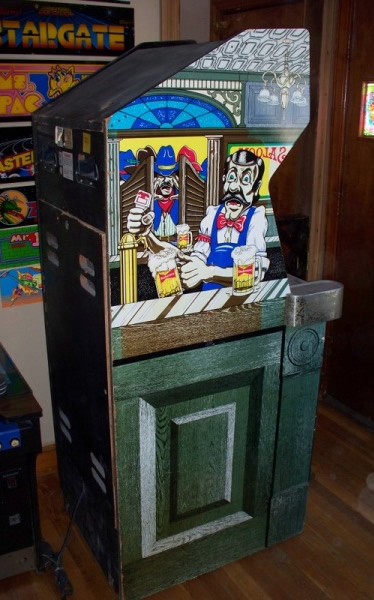 Tapper Cabinet - Left Side with Color Sideart